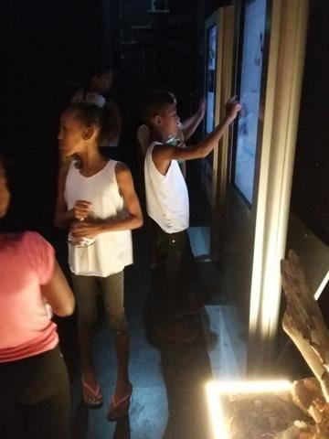 Visita Técnica - CEMAFAUNA. Escola Joca de Souza. Juazeiro-BA. 11-07-2016