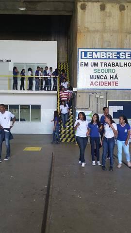 Visita Técnica - Usina da Chesf-Sobradinho. Escola Artur Oliveira. Juazeiro-BA. 14-07-2016 (11)