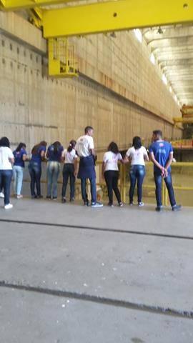 Visita Técnica - Usina da Chesf-Sobradinho. Escola Artur Oliveira. Juazeiro-BA. 14-07-2016 (12)