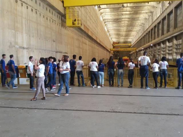 Visita Técnica - Usina da Chesf-Sobradinho. Escola Artur Oliveira. Juazeiro-BA. 14-07-2016 (18)