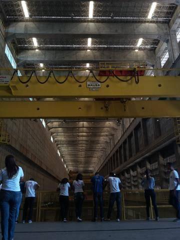 Visita Técnica - Usina da Chesf-Sobradinho. Escola Artur Oliveira. Juazeiro-BA. 14-07-2016 (19)