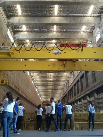Visita Técnica - Usina da Chesf-Sobradinho. Escola Artur Oliveira. Juazeiro-BA. 14-07-2016 (20)
