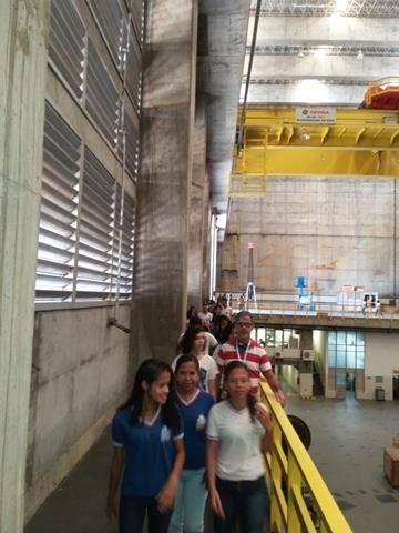 Visita Técnica - Usina da Chesf-Sobradinho. Escola Artur Oliveira. Juazeiro-BA. 14-07-2016 (22)