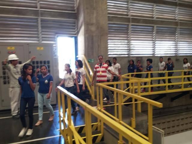 Visita Técnica - Usina da Chesf-Sobradinho. Escola Artur Oliveira. Juazeiro-BA. 14-07-2016 (24)
