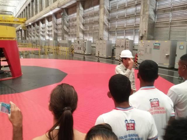 Visita Técnica - Usina da Chesf-Sobradinho. Escola Artur Oliveira. Juazeiro-BA. 14-07-2016 (30)
