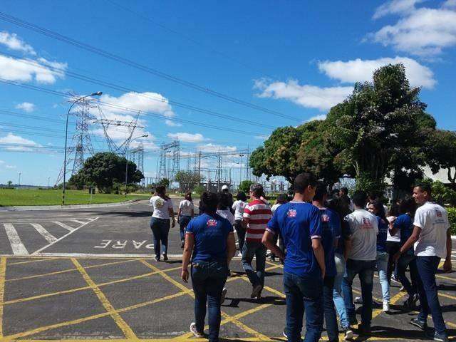 Visita Técnica - Usina da Chesf-Sobradinho. Escola Artur Oliveira. Juazeiro-BA. 14-07-2016 (34)
