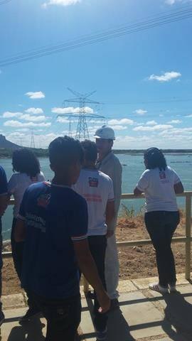 Visita Técnica - Usina da Chesf-Sobradinho. Escola Artur Oliveira. Juazeiro-BA. 14-07-2016 (37)