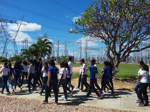 Visita Técnica - Usina da Chesf-Sobradinho. Escola Artur Oliveira. Juazeiro-BA. 14-07-2016 (39)