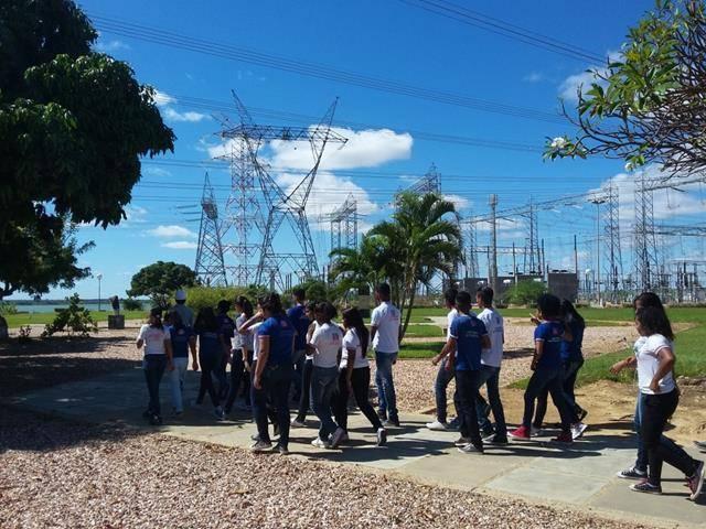 Visita Técnica - Usina da Chesf-Sobradinho. Escola Artur Oliveira. Juazeiro-BA. 14-07-2016 (40)