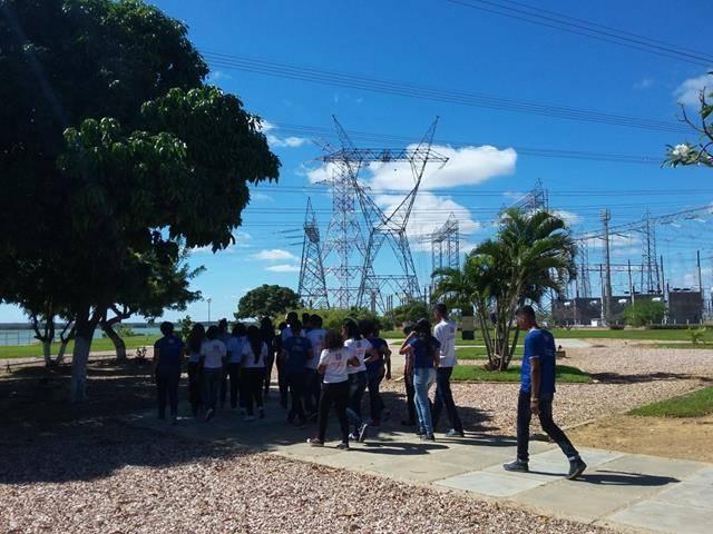 Visita Técnica - Usina da Chesf-Sobradinho. Escola Artur Oliveira. Juazeiro-BA. 14-07-2016 (41)