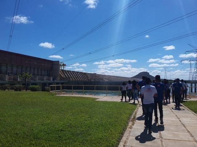 Visita Técnica - Usina da Chesf-Sobradinho. Escola Artur Oliveira. Juazeiro-BA. 14-07-2016 (42)
