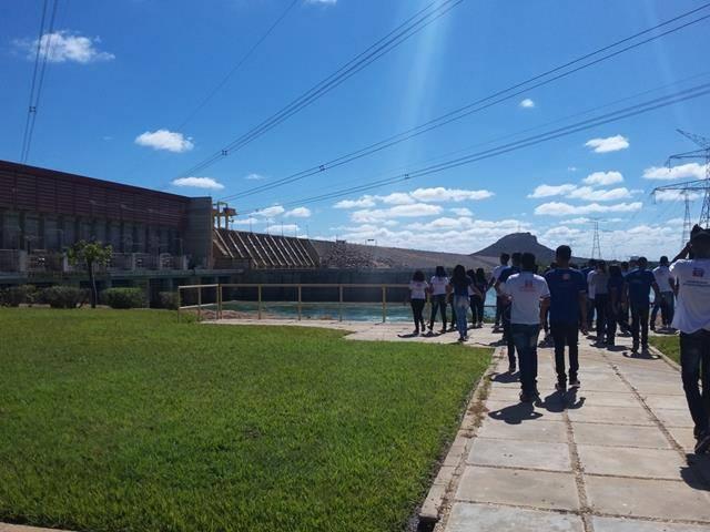 Visita Técnica - Usina da Chesf-Sobradinho. Escola Artur Oliveira. Juazeiro-BA. 14-07-2016 (43)