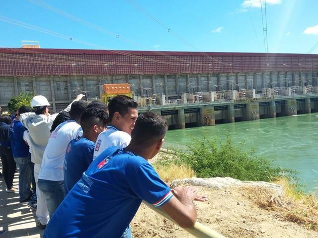 Visita Técnica - Usina da Chesf-Sobradinho. Escola Artur Oliveira. Juazeiro-BA. 14-07-2016 (47)