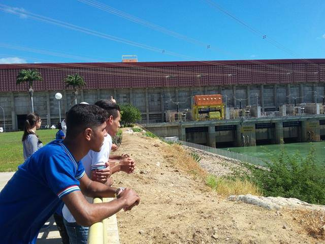 Visita Técnica - Usina da Chesf-Sobradinho. Escola Artur Oliveira. Juazeiro-BA. 14-07-2016 (49)