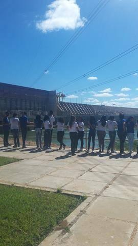 Visita Técnica - Usina da Chesf-Sobradinho. Escola Artur Oliveira. Juazeiro-BA. 14-07-2016 (52)