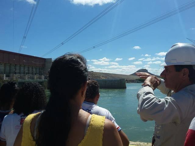Visita Técnica - Usina da Chesf-Sobradinho. Escola Artur Oliveira. Juazeiro-BA. 14-07-2016 (54)