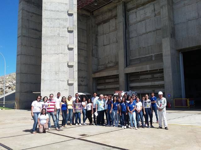Visita Técnica - Usina da Chesf-Sobradinho. Escola Artur Oliveira. Juazeiro-BA. 14-07-2016 (56)