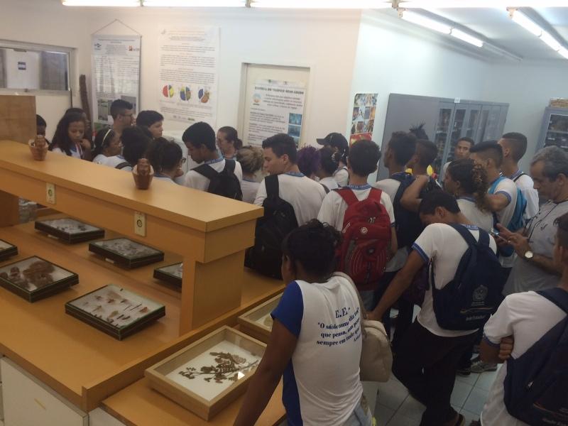 Visita técnica à Embrapa - Escola Eduardo Coelho - Petrolina-PE - 24.11.15
