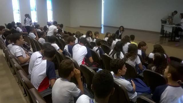 Visita Técnica - Cemafauna. Escola Prof. Simião Amorim Durando. Petrolina-PE. 18-05-2016