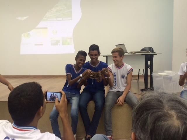 Visita Técnica ao Cemafauna. Escola Antonio de França Cardoso. Petrolina-PE. 02-06-2016