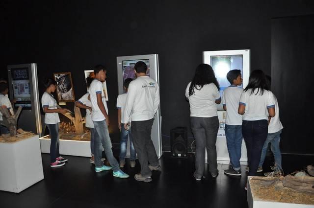 Atividade com palestra e visita ao museu da fauna e da caatinga - Colégio Gercino Coelho - Petrolina-PE - 09.03.16