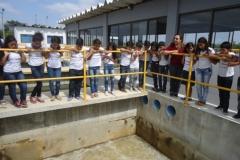 Visitas técnicas sensibilizam sobre tratamento da água, coleta seletiva e reciclagem
