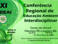 XI Conferência Regional de Educação Ambiental Interdisciplinar. Univasf. Petrolina-PE e Juazeiro-BA. 9 e 10 de Março de 2019.