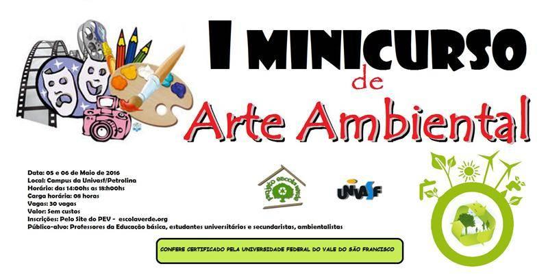I Minicurso de Arte Ambiental