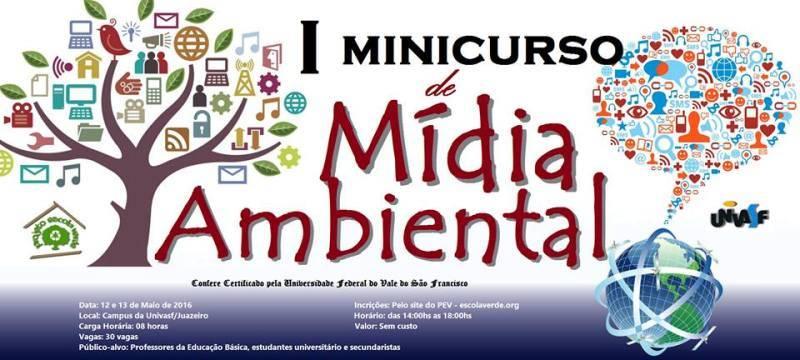 I Minicurso de Mídia Ambiental