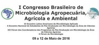 I Congresso Brasileiro de Microbiologia Agropecuária, Agrícola e Ambiental