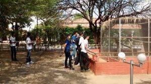 Visita técnica ao Parque Zoobotânico/Petrolina. Escola Polivalente Américo Tanuri. Juazeiro-BA.30/11/2016.