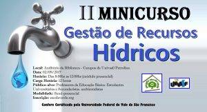 II_Minicurso_de_Gestao_de_Recursos_Hidricos
