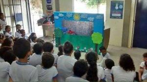Arte Ambiental. Programa Escola Verde. 2016