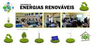 Energias renováveis. Programa Escola Verde. 2016