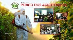 Cuidados com os agrotóxicos. Programa Escola Verde. 2016