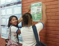 Visitas técnica. Programa Escola Verde. 2016