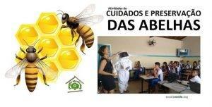 Preservação das abelhas. Programa Escola Verde. 2016
