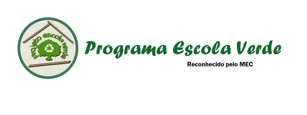 Banner - Programa Escola Verde