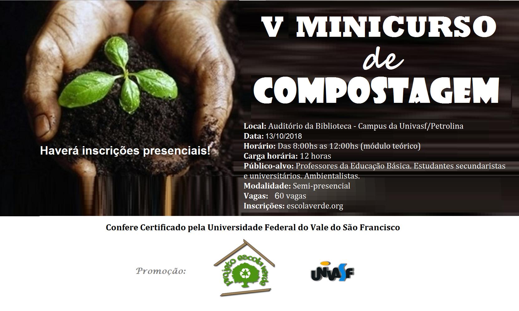 banner III minicurso de compostagem
