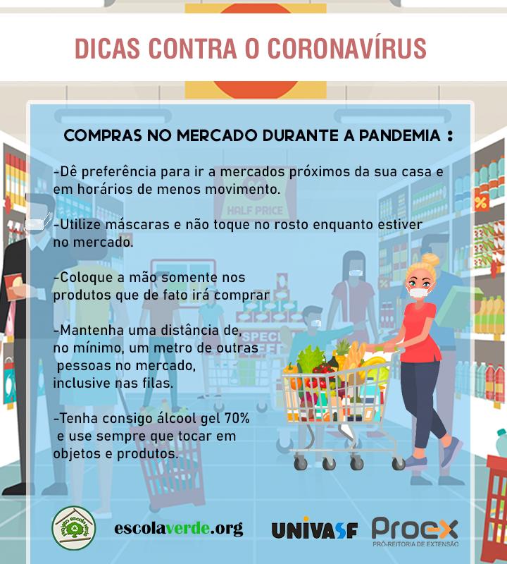 DICAS CONTRA O CORONAVÍRUS